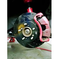 AR Racing Slotted Drilled Performance Disc Rotor