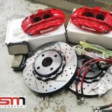 Brembo 4pot 6pot Brake Kit Rotor Brake Pad Brake Hose Caliper