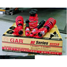 GAB HE Series HiLo Bodyshift Adjustable Suspension