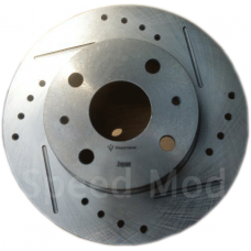 IMPROVE IMP Formula Brake Disc Rotor Slotted & Drilled