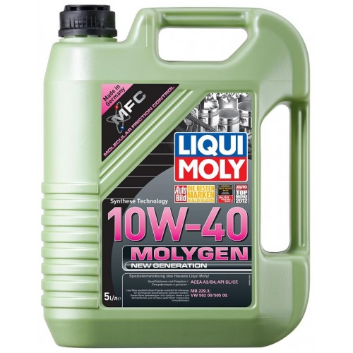 liqui moly molygen new generation 10w40 5l. Black Bedroom Furniture Sets. Home Design Ideas