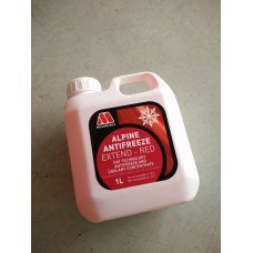 Millers Alpine Antifreeze Extend Red 1L