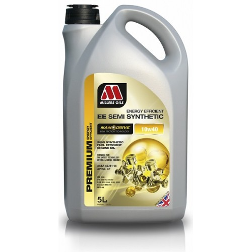 Millers Ee 10w 40 Semi Synthetic Engine Oil 5l