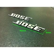 BOSE Hi-Fi Speaker 3D Metal Aluminium Emblem Badge