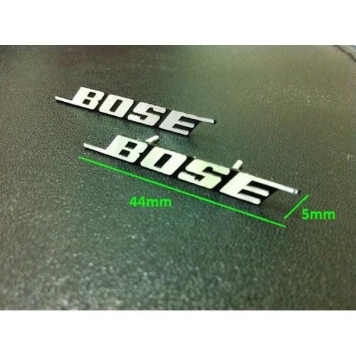 Bose Hi Fi Speaker 3d Metal Aluminium Emblem Badge
