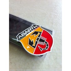 ABARTH Badge High Quality Aluminium Made ETIE Genuine