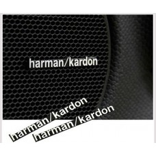 Harman / Kardon Speaker Badge Emblem Logo Aluminium Made