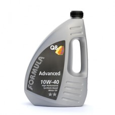 Q8 Formula Advanced 10W/40 Performance Semi Synthetic Engine Oil 4L