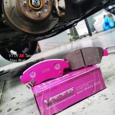 VTTR Nao Brake Pad Pink 550C