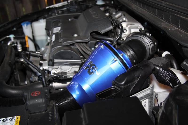 K/&N Apollo universal Closed Cold Air Intake System RC-5052AB