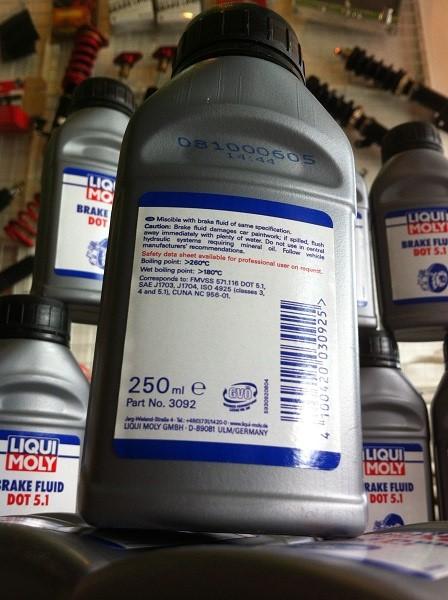 Dot 5 1 Brake Fluid >> Liqui Moly DOT 5.1 Brake Fluid 250ml